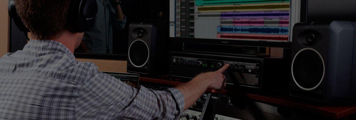 Interface de audio thunderbolt