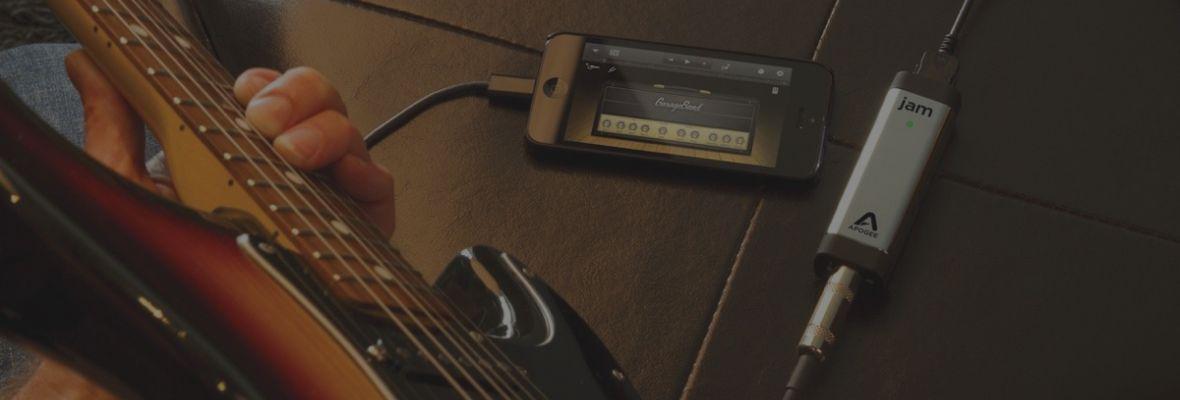 Interface de audio para guitarristas