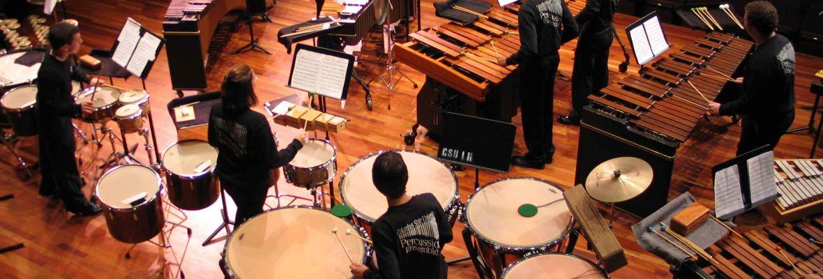 Instrumentos de percusión para banda y orquesta