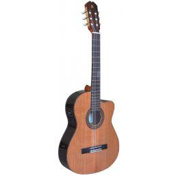 Admira Virtuoso ECF Guitarra clásica con cutaway y previo Fishman