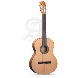 Alhambra 2F + G + funda acolchada 10 mm Guitarra Flamenca + Funda 9730