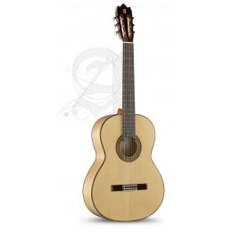 Alhambra 3F + G + funda acolchada 10 mm Guitarra Flamenca + Funda 9730