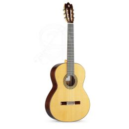Alhambra 4P A + funda acolchada 25 mm Guitarra Española + Funda 9738