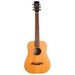 Alvarez Guitars MSD-610 Travel Guitar Dreadnought Guitarra estilo Dreadnought tamaño 3/4