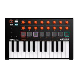 Arturia Minilab MKII Orange Edition Teclado controlador MIDI de 25 teclas