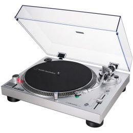 Audio Technica AT LP120X USB SV Plata Plato de DJ con salida USB