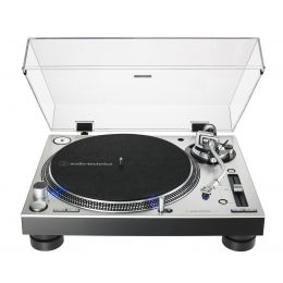Audio Technica AT LP140XP SV Plata Plato de DJ