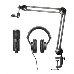 Audio Technica Creator Pack Bundle para streaming, podcasting y grabación