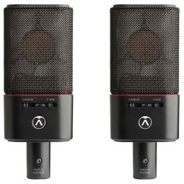 Austrian Audio OC18 Live Set Stereo pair Set con 2 micrófonos de condensador de gran diafragma