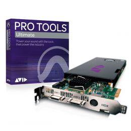 Avid Pro Tools HDX Core más Pro Tools HD Soft
