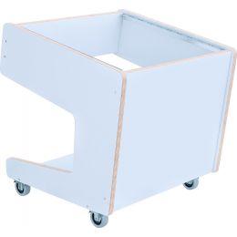 Buso Audio Sidecar 10U White Mueble rack de estudio