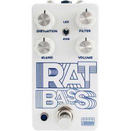 Comodoro Pedales Rat Bass Pedal de efecto distorsión para bajo eléctrico