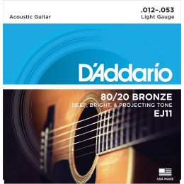 D'Addario EJ11 - 80/20 Bronze Light [12-53]
