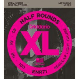 D'Addario ENR71 XL Half Rounds Regular Light [45-100]