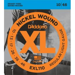 D'Addario EXL110 XL Regular Light [10-46]