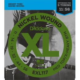 D'Addario EXL117 Medium Top / Extra Heavy Bottom [11 - 56]