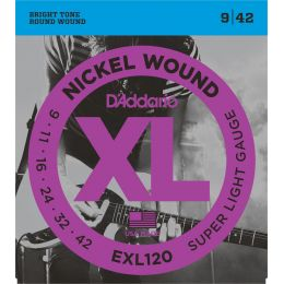 D'Addario EXL120 XL Super Light [09-42]