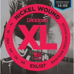 D'Addario EXL157 - XL Guitarra barítono [14-68]