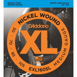D'Addario EXL160SL Super Long Scale [50-105]