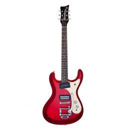 Danelectro 64 Red Metallic