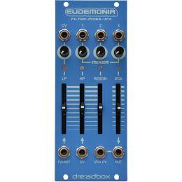 Dreadbox Eudemonia Sintetizador modular Filter-Mixer-VCA
