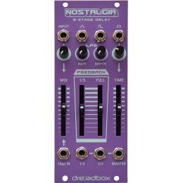 Dreadbox Nostalgia Sintetizador modular 3-Stage Delay