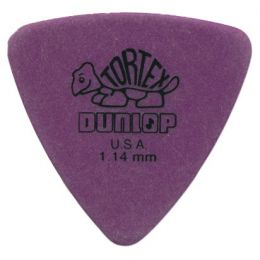 Dunlop Púa Player Tortex Triangle 1,14mm