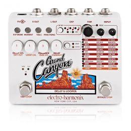 Electro-Harmonix Grand Canyon Pedal de efectos Delay y Looper para guitarra