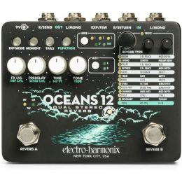 Electro-Harmonix Oceans 12 Pedal de efectos Dual Stereo Reverb
