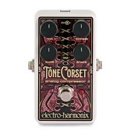Electro-Harmonix Tone Corset Pedal de efectos de compresión analógico para guitarra eléctrica