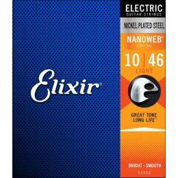 Elixir strings Nanoweb Light 10-46