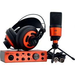 ESI cosMik Set  Pack de micrófono de estudio, interfaz de audio y auriculares
