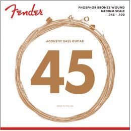 Fender Acoustic Bass 7060 Juego de cuerdas Fender para bajo acústico