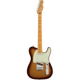 Fender American Ultra Telecaster MN Mocha Burst Guitarra eléctrica Telecaster