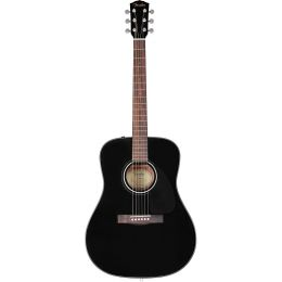 Fender CD60 Dread V3 DS Blk WN Guitarra acústica dreadnought