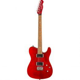 Fender Special Edition Custom FMT HH LF Crimson Red Transparent