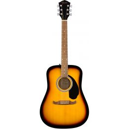 Fender FA125 Sunburst  Guitarra acústica tipo dreadnought