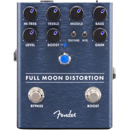 Fender Full Moon Distortion  Pedal de efecto distorsión para guitarra