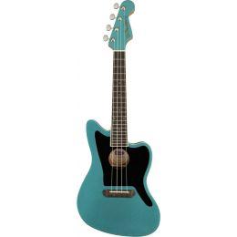 Fender Fullerton Jazzmaster Uke Tidepool Ukelele Concierto eléctrico