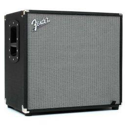 Fender Rumble 115 Cabinet Negro/Plata