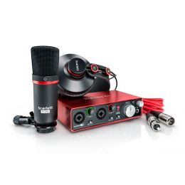 Focusrite Scarlett 2i2 Pack 2nd Gen