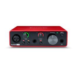 Focusrite Scarlett Solo 3rd Gen Interface de audio USB