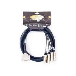 Funky Junk Cables Multipar 8 SubD25 - XLR Macho 1m