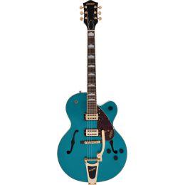Gretsch G2410TG Streamliner HLW SC Ocean Turquoise Guitarra eléctrica Hollow Body