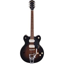 Gretsch G2622T-P90 Streamliner CB DC Brownstone Guitarra eléctrica Hollow Body