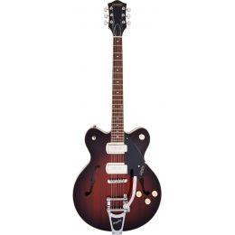 Gretsch G2622T-P90 Streamliner CB DC Forge Glow Guitarra eléctrica Hollow Body