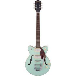 Gretsch G2655T-P90 Streamliner CB JR DC Two-Tone Mint Metallic Guitarra eléctrica Hollow Body