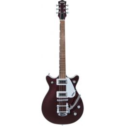 Gretsch G5232T Double Jet FT with Bigsby LF Dark Cherry Metallic