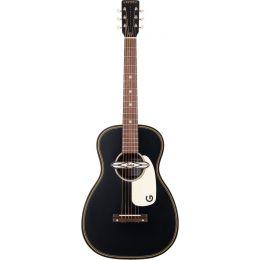 Gretsch G9520E Gin Rickey Smokestack Black Guitarra electroacústica Parlor