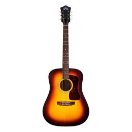 Guild Guitars D40E ATB SP/MH W/C Guitarra electroacústica tipo dreadnought